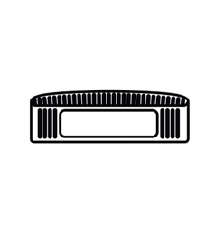 speaker player isolated icon design vector image