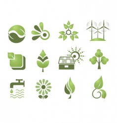 set of design elements enviro vector image vector image