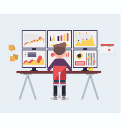 Analytics analysis risks statistics vector