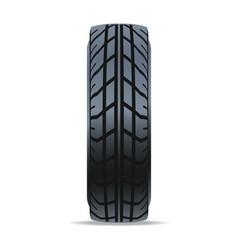 Automobile speedy tire icon vector