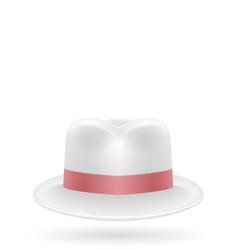 beach hat for men stock vector image