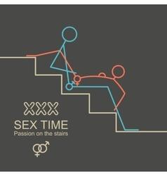 Kamasutra man and woman sex xxx vector