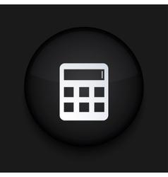 modern black circle icon Eps10 vector image