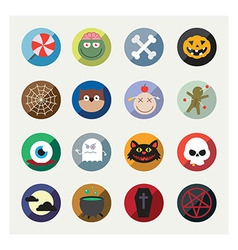 Nice detail and easily identifiable icons set vector image