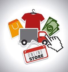 Shopping design vector