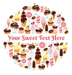 Sweet life element vector