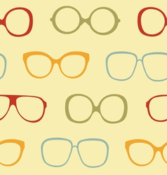 Sunglasses pattern vector image