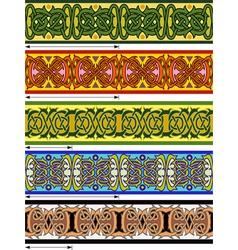 elements of design vector image vector image