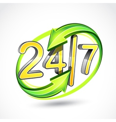 24 7 vector