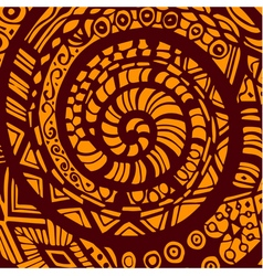 Abstract ornament for background hand drawing vector