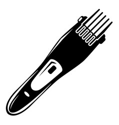 Electric hair clipper icon simple style vector