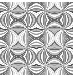grey seamless abstract psychedelic swirl stripe vector image