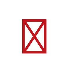 Icon for not available symbol stock isolated on vector