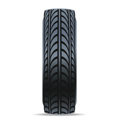 modern auto tire icon vector image