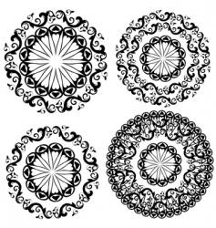 pattern vintage vector image