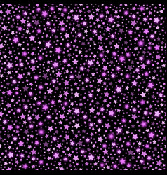 violet abstract shining falling stars seamless vector image
