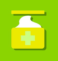 flat icon design collection medical napkins in vector image vector image