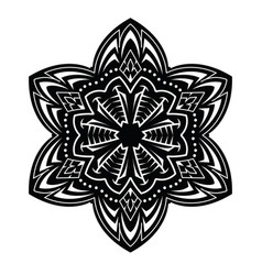 abstract tattoo mandala vector image