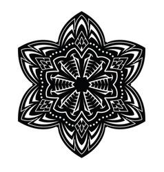 Abstract tattoo mandala vector