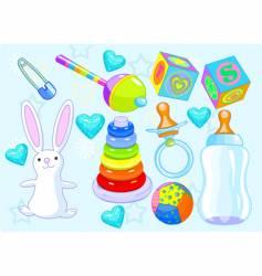 boy toys vector image