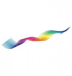 color pixel wave vector image