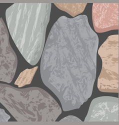 Massive stone texture background in greyish jade vector