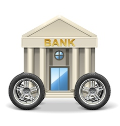 Mobile Bank vector image