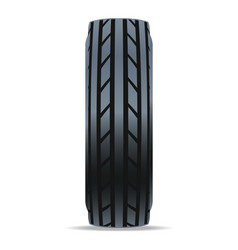 modern road car tire icon vector image