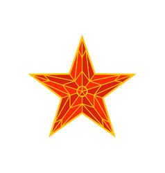 Moscow kremlin red star spasskaya tower the vector