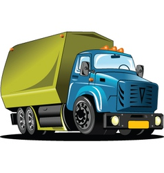 Rubbish Truck vector