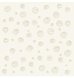 Seamless pattern Casual polka dot texture vector image