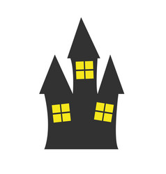 simple old house vector image