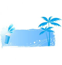 palms vector image vector image
