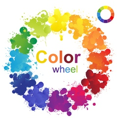 Color wheel vector