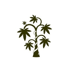 Medical-Plant-380x400 vector image vector image