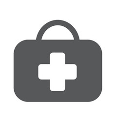 medicine chest sign vector image