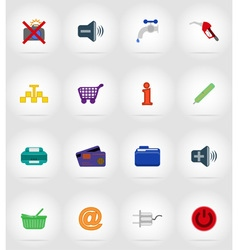 service flat icons 37 vector image vector image