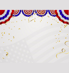 4 of july usa independence day abstract holiday vector