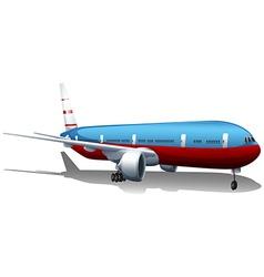 A big plane vector