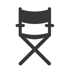 confortable seat object element vector image
