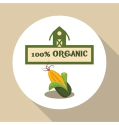 Farm Fresh design Organic food Healthy lifestyle vector
