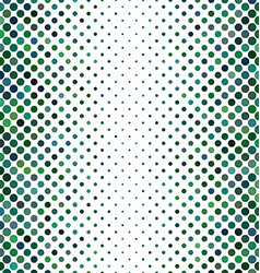 Green abstract dot pattern background vector image