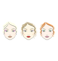 Make up scheme vector