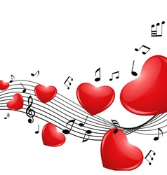 Melody love vector