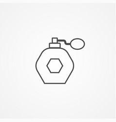 perfume icon sign symbol vector image