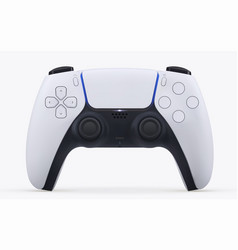 play game station realistic gamepad vector image