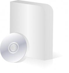 Software box vector