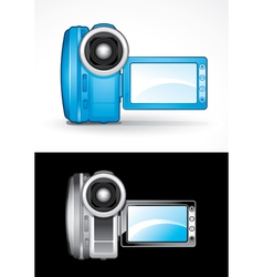 Video camcorders vector