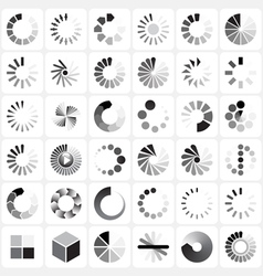 load indicators vector image
