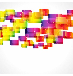 Multicolor abstract bright background vector image vector image